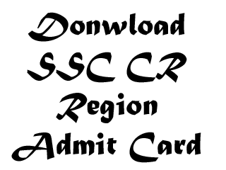 SSC_CR_Admit_Card