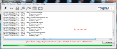 [Panduan Lengkap] Flash Sony Xperia Matot, Bootloop Via Flashtool