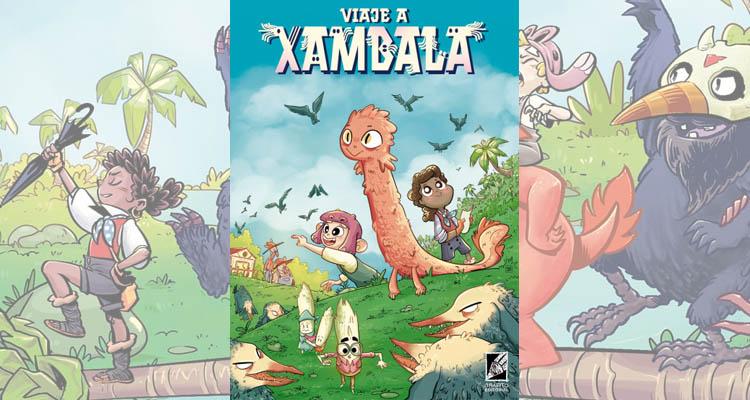 Reseña de Viaje a Xambala (Grafito Editorial)