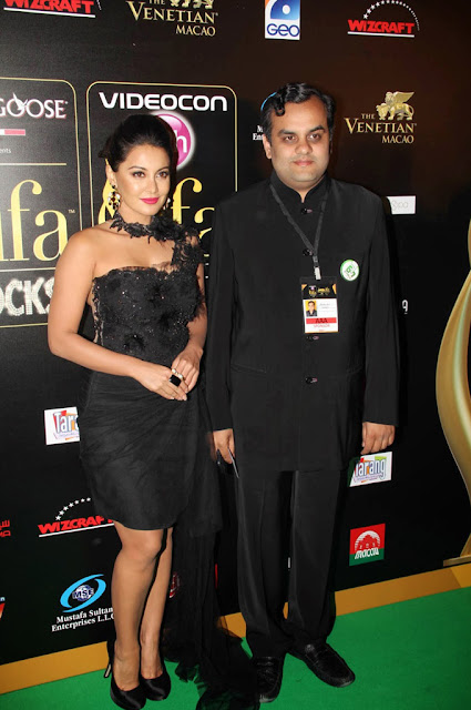 South Indian ACtress Minissha Lamba at International Indian Film Academy Awards