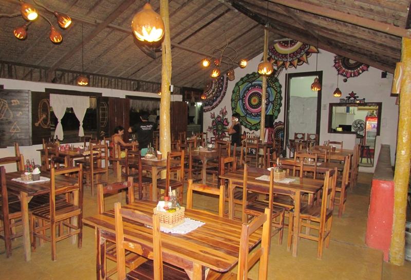 Restaurante em Jericoacoara, frutos do mar