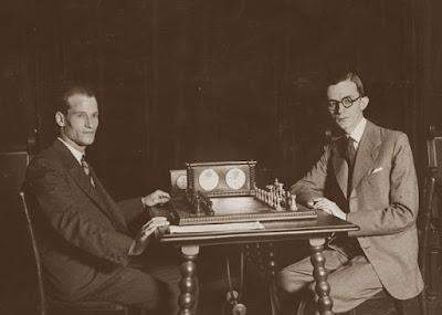Campeonato de España de Ajedrez de 1933, Jaime Casas contra el Dr. Ramón Rey Ardid