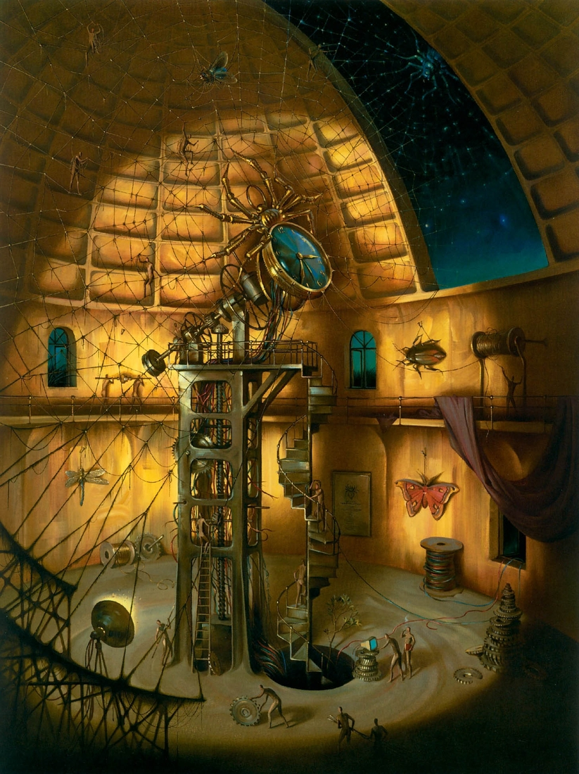 02-Webmaster-Vladimir-Kush-Surrealism-Allows-Travel-Through-Paintings-www-designstack-co