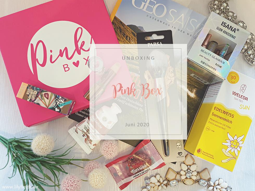 Pink Box - Juni 2020 - unboxing