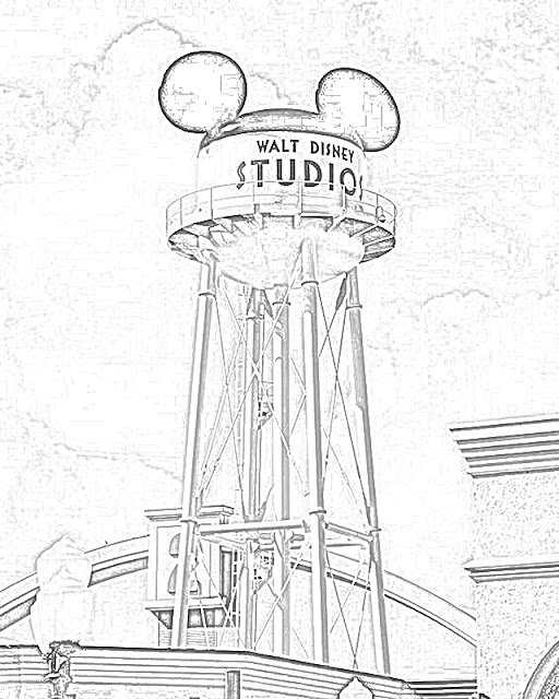 Walt Disney World coloring.filminspector.com