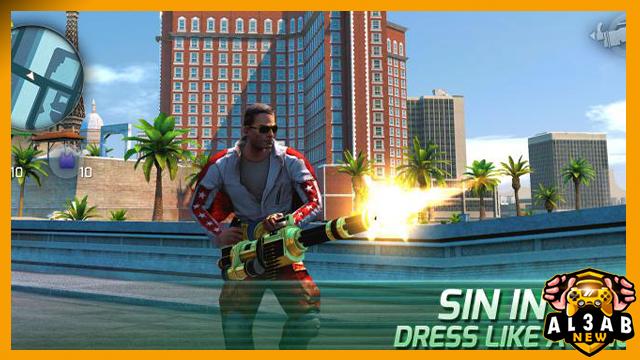 تحميل لعبة جانجستر فيغاس 4 Gangstar Vegas للاندرويد برابط مباشر