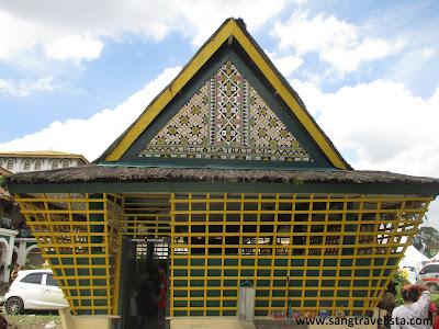 Meriam Puntung Istana Maimun Deli