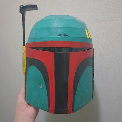 ボバ・フェットのヘルメット完成
