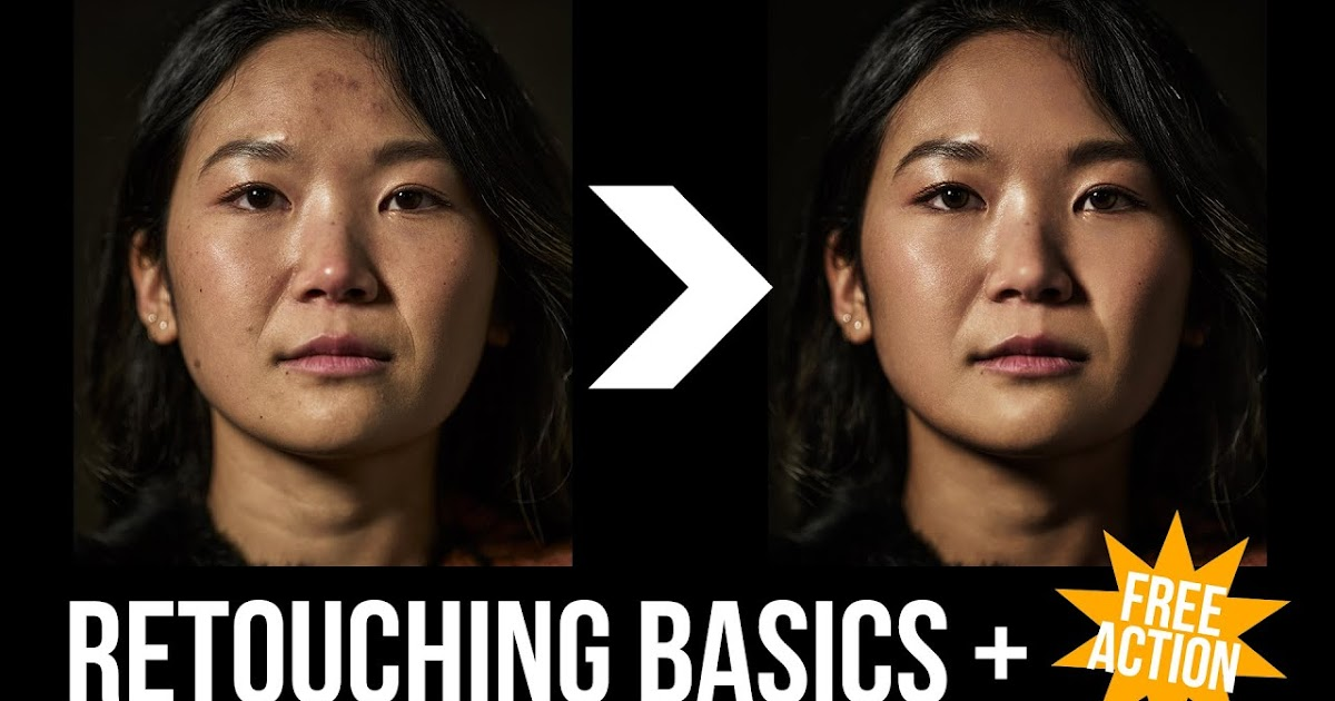 Retouching and Color Correction Basics | Plus a Free Action!