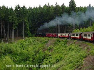 Dampflokomotive im Harz, Foto von unabh. Stampin' Up! Demonstratorin in Coburg