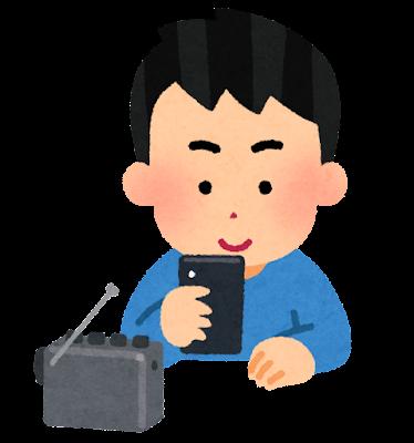 メール職人のイラスト(男性)