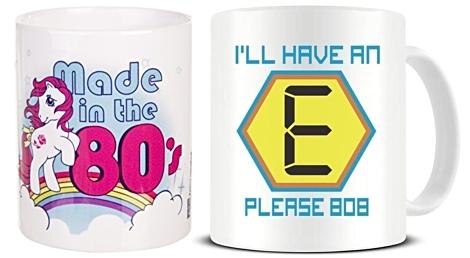 80s Mugs under £10