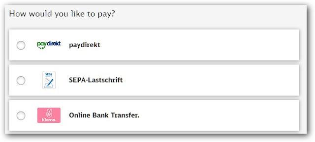 德國邦票付款方式-德國及歐盟境內