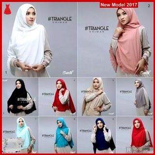 RYB025B Hijab Jilbab Cantik Khimar Murah Triangle BMG Online Shop