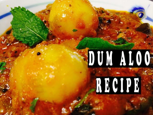 Dum Aloo recipe | How to make Dum Aloo