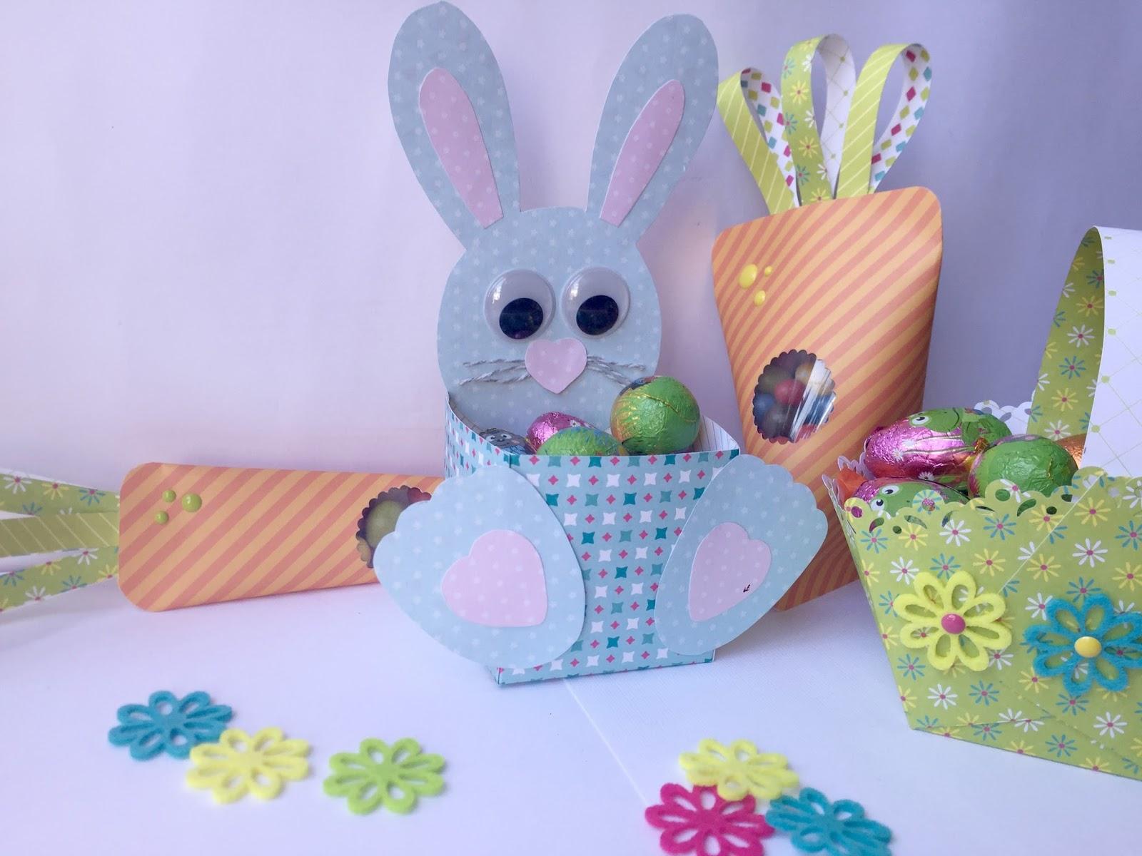 DIY cestas para Pascuas