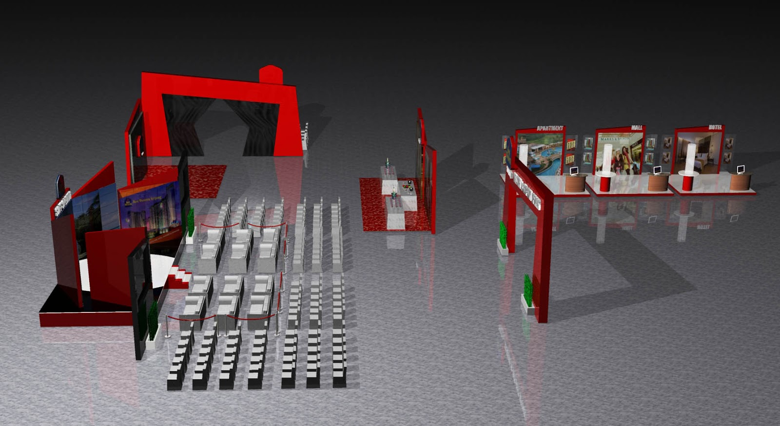 Conical Creative 3d Stage Design Amp Lay Out Event