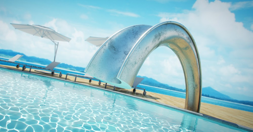 If It S Hip It S Here Archives The Coolest Swimming Pool Slide