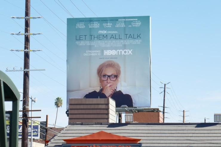 Let Them All Talk HBO Max billboard