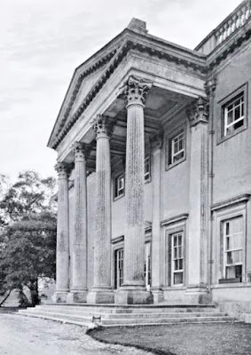 The Entrance Portico, Shardeloes   from The Architecture of Robert and James Adam by AT Bolton (1922)