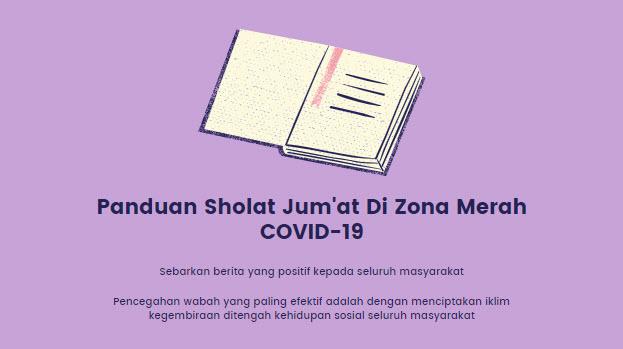 Panduan Sholat Jum'at Di Zona Merah COVID-19