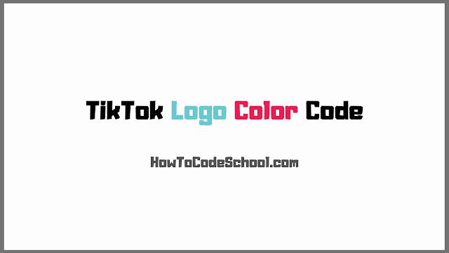 TikTok Logo Color Code