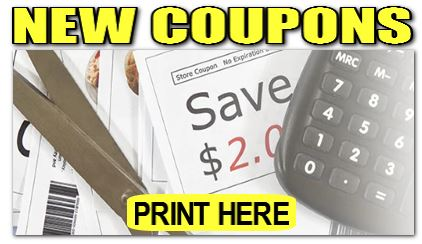 Click here to print new coupons