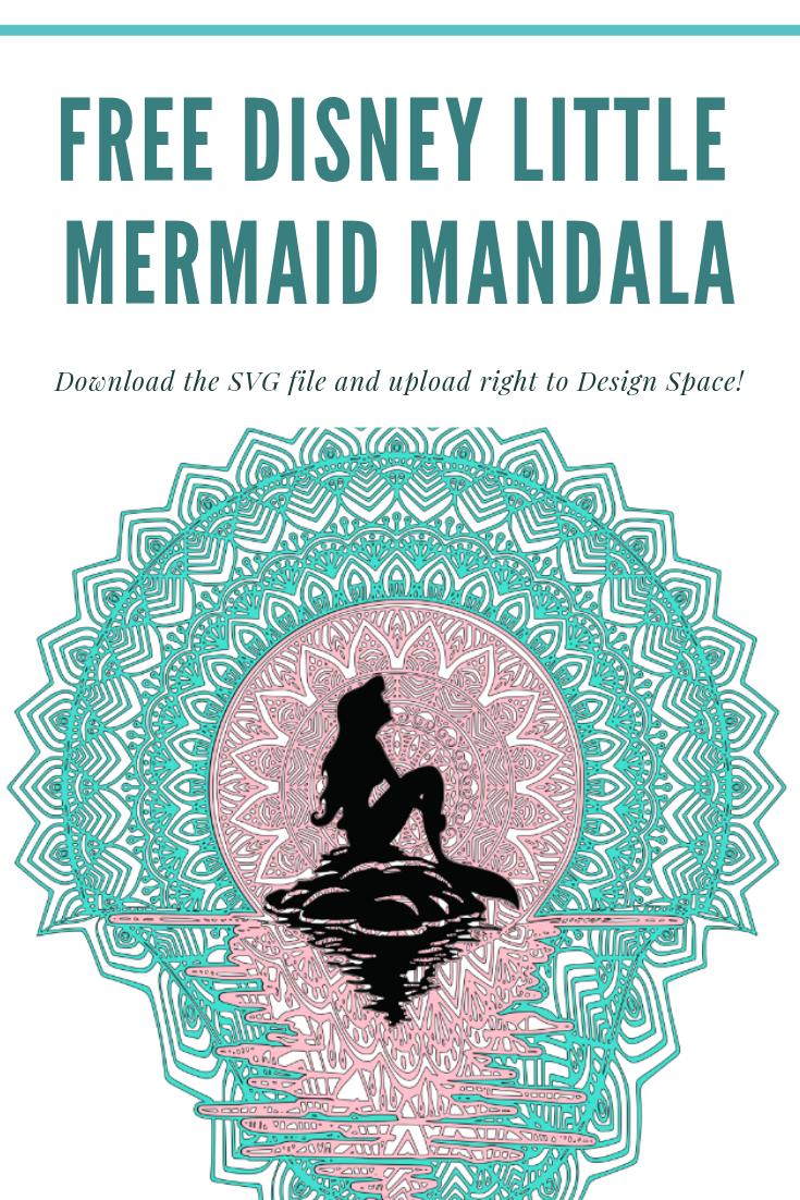 Chaos And Crafts Design Free Disney Little Mermaid Mandala