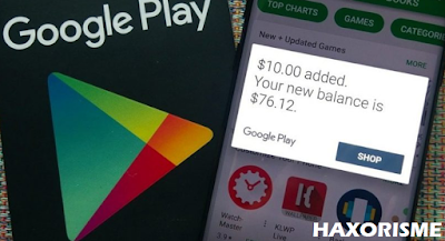 Cara CO GPC - Google Play Gift Card di Walmart
