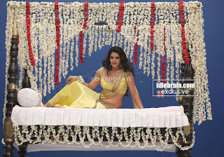 Sakshi Chodary in Yellow Transparent Sareei Choli Spicy Pics 24 .xyz.jpg
