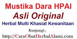 Jual Khasiat manfaat Mustika Dara (MuDa) asli HPAI ori untuk keharmonisan dan keintiman PASUTRI