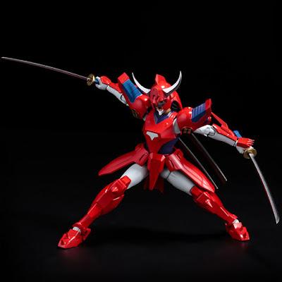 figura articulada de Rekka no Ryo, Yoroiden Samurai Troopers.