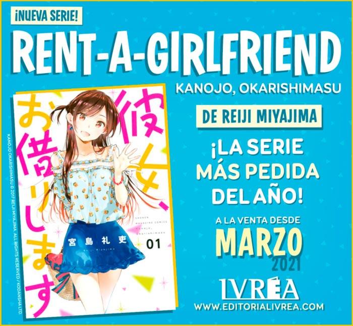 Rent-A-Girlfriend (Kanojo, Okarishimasu) manga - Reiji Miyajima - Ivrea