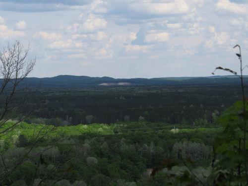 vista with Briar Hill
