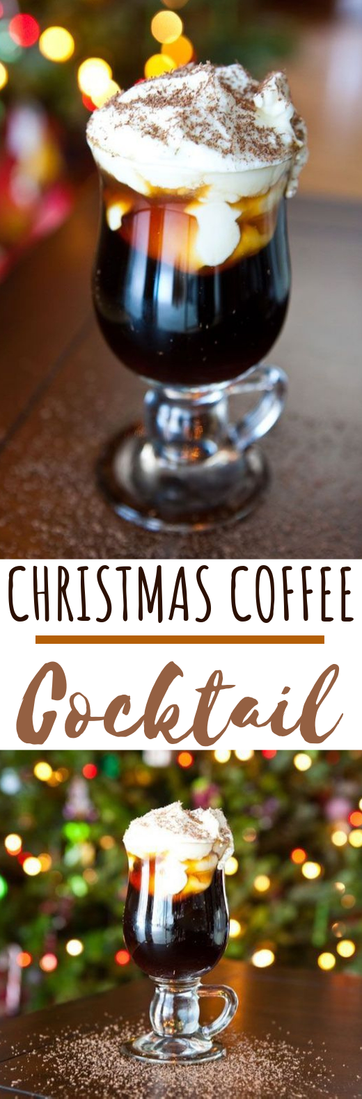 Christmas Coffee Cocktail #drinks #cocktails