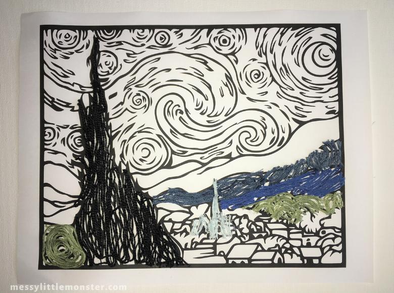 Van Gogh Inspired Art