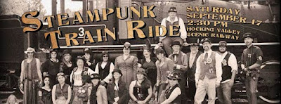 Steampunk Event Ohio Train Ride Hocking Valley Railway Ohio 2016