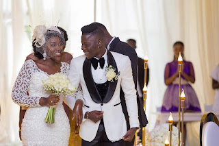 video and pictures from Ghanain musician stonebwoy's wedding