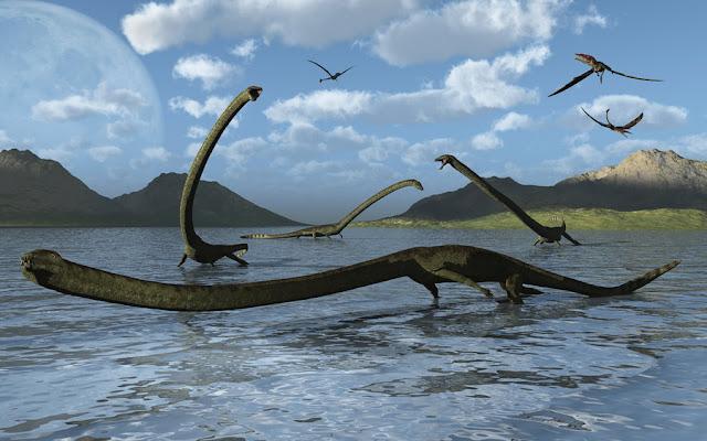Tanystropheus mahluk purba terbesar yang pernah ditemukan fosilnya