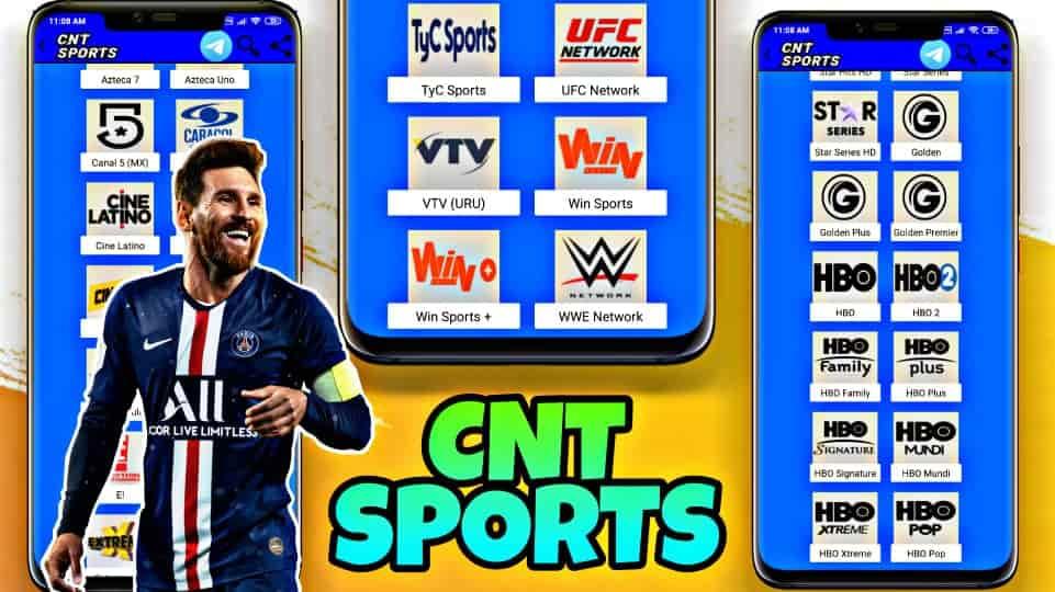 CNT SPORTS Es La MEJOR Aplicación de TV DIGITAL HD Para Android 2021
