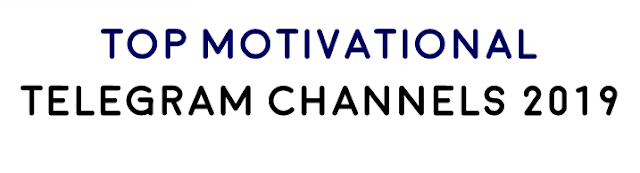 Top Motivational Telegram Channels