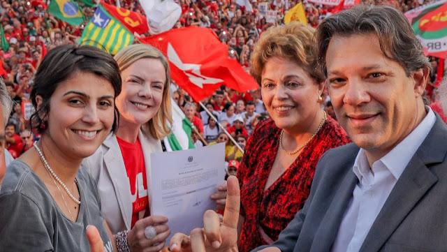 Lula é registrado candidato do PT a Presidente da República