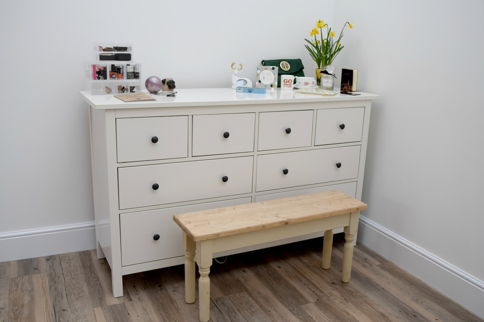Ikea Hemnes Drawers in living area