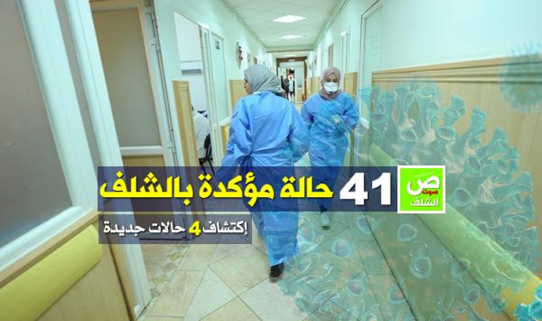 إحصاء 41 حالة مؤكد إصابتها بفيروس كورونا بالشلف