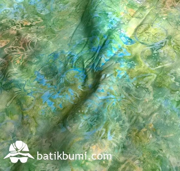 Kain BATIK CAP Smoke motif Buah