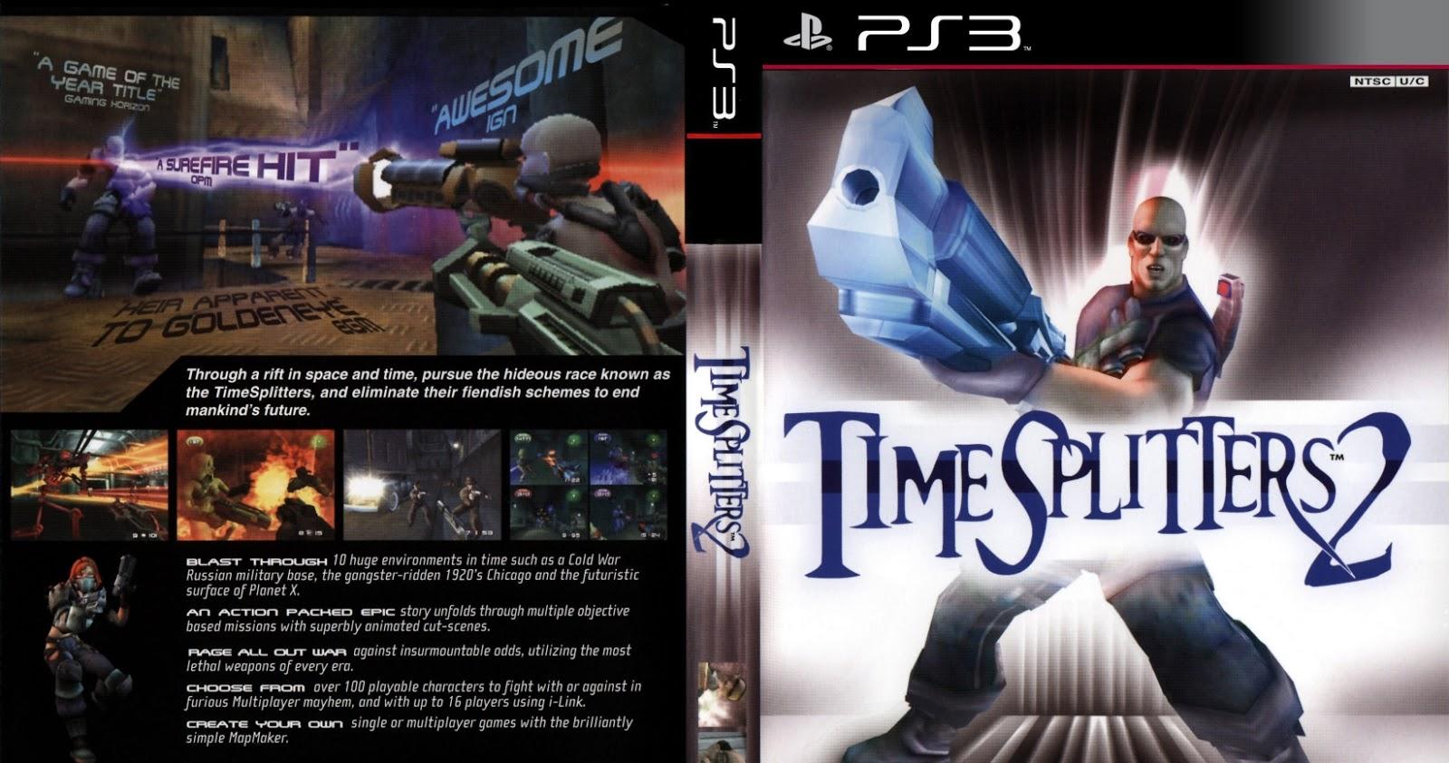 timesplitters 2 ps2 iso mega