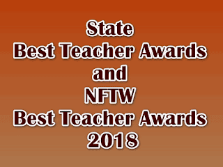 State Best Teacher Awards and NFTW Best Teacher Awards 2018