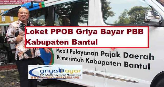 Loket PPOB Griya Bayar PBB Kabupaten Bantul