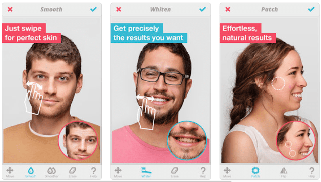 تطبيق لتعديل بشرة الوجه على الموبايل مجاناً