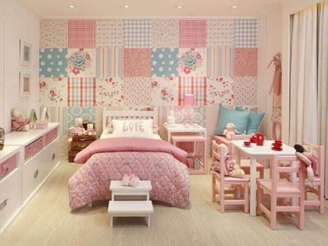 Children's room decoration wallpaper